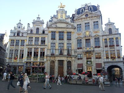 Scene from Brussels, Belgium